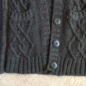 Decree Sweaters - Long Knitted Gray Cardigan
